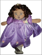 lorna paris cloth doll